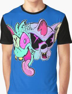 Pinky And Brain Graphic T-Shirt