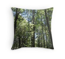 Go To The Forest Throw Pillow