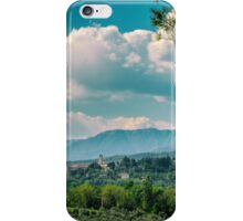 An old village in the italian countryside iPhone Case/Skin