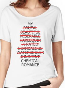 Music/Humour - My ________ Romance Women's Relaxed Fit T-Shirt