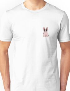 French bulldog in brown and white Unisex T-Shirt