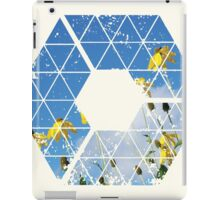 Nature and Geometry - Yellow Flowers iPad Case/Skin
