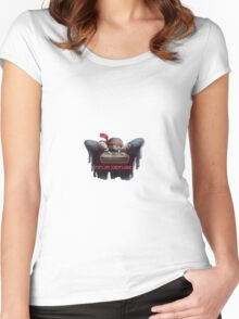 Ninja defuse Women's Fitted Scoop T-Shirt