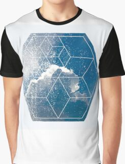 Nature and Geometry - The Clouds Graphic T-Shirt