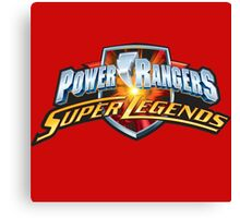 mighty mhorpin power rangers super legend Canvas Print