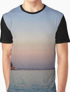Sunset on the Water Graphic T-Shirt