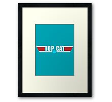 You can be my wing cat Framed Print