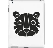 cute animal in black  iPad Case/Skin