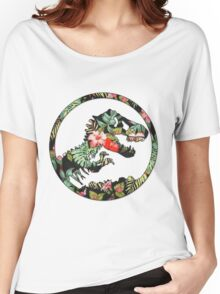 Jurassic Floral 2 | The Lost Design Women's Relaxed Fit T-Shirt