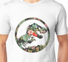 Jurassic Floral 2 | The Lost Design Unisex T-Shirt