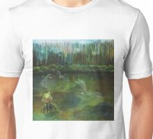 Frog on his Rock Unisex T-Shirt