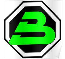 LEGO blacktron II logo Poster