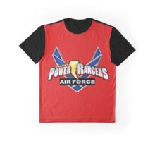 mighty mhorpin power rangers air force Graphic T-Shirt