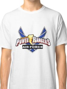 mighty mhorpin power rangers air force Classic T-Shirt