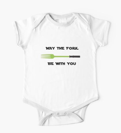 May The Fork Be With You One Piece - Short Sleeve