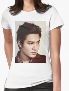 Handsome Lee Min Ho Womens Fitted T-Shirt