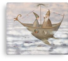 A Mystical Voyage Canvas Print