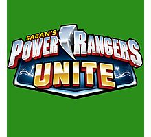 mighty mhorpin power rangers unite Photographic Print