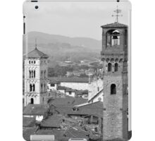 Lucca's rooftops and towers iPad Case/Skin