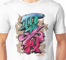 Japanese KANJI Graffiti ICHIGEKIHISSATSU Unisex T-Shirt