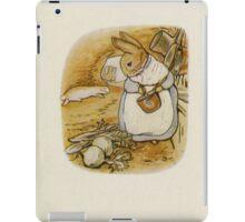 Vintage famous art - Beatrix Potter - Peter Rabbit, 1902 iPad Case/Skin