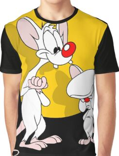 Pinky And The Brain : Classic Graphic T-Shirt