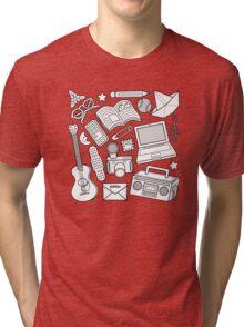 playtime (b&w) Tri-blend T-Shirt