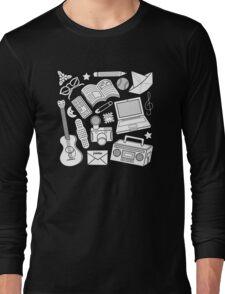 playtime (b&w) 2 Long Sleeve T-Shirt