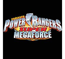mighty mhorpin power rangers super mega force Photographic Print