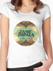 tame impala poster Women's Fitted Scoop T-Shirt