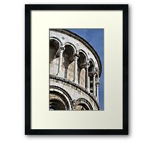 Lucca's St Martin Cathedral Framed Print