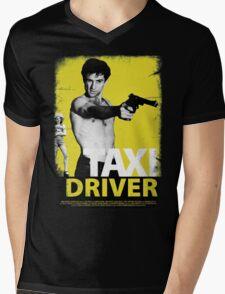 TAXI DRIVER : MOVIE CLASSIC 3 Mens V-Neck T-Shirt