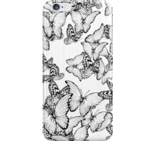 Feel free with these butterflies... iPhone Case/Skin