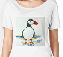 puffin  Women's Relaxed Fit T-Shirt