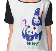 WWF multicolour Chiffon Top