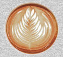 Latte Art  One Piece - Short Sleeve