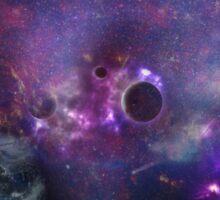 Planet Galaxy Sticker