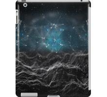 Black & Blue Tech iPad Case/Skin