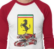 Ferarri Men's Baseball ¾ T-Shirt