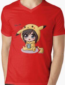 Chu! Mens V-Neck T-Shirt