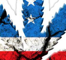 American LEAF Sticker