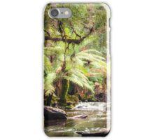 Riverside ferns iPhone Case/Skin