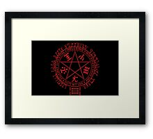 Hells gate arrested... Framed Print