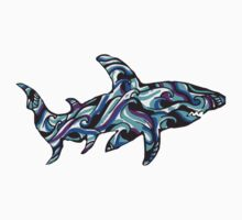 shark hype skin logo Kids Tee