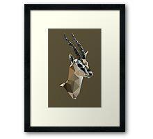 LP Gazelle Framed Print