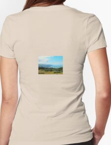 Porlock Bay in Somerset Womens Fitted T-Shirt