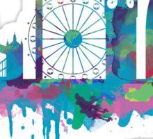 Inky London Skyline Sticker