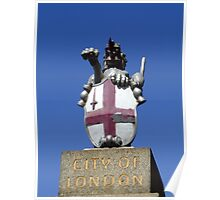 City of London, Coat of Arms, London, England Poster