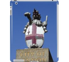 City of London, Coat of Arms, London, England iPad Case/Skin