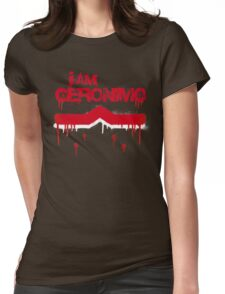I Am Geronimo Womens Fitted T-Shirt